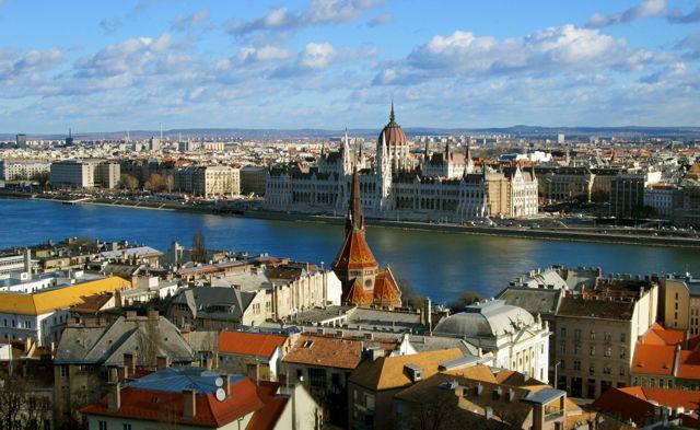 Budapest Fernicular View