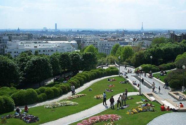 Parc de Belleville - Paris