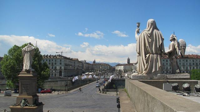 Piazza Vittorio Veneto in Turin