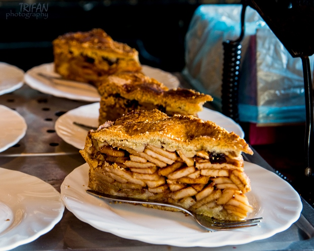 Apple pie from Cafe Papeneiland Amsterdam