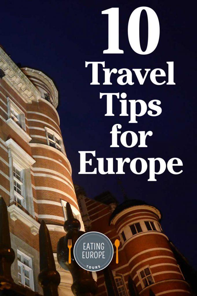10 Travel Tips for Europe