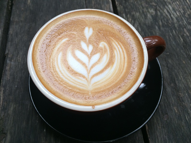 flat white coffee