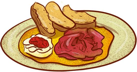 Svičková (Beef in a cream sauce) - Best Czech Foods