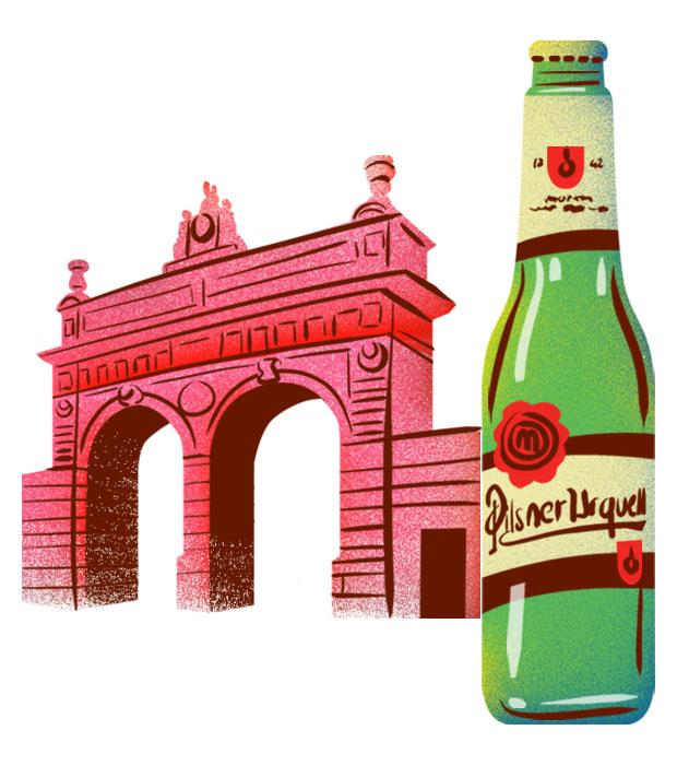 Pilsner Urquel Beer - Best Czech Foods