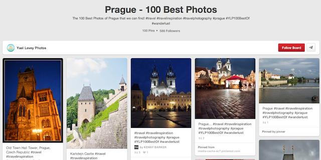 100 Best Photos - Prague Pinterest