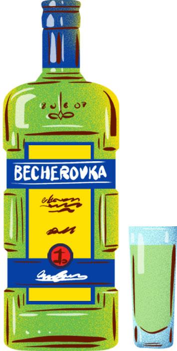 Becherovka - Best Czech Foods