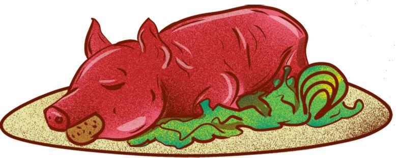 Zabijačka (Traditional Roast Pig) - Best Czech Foods
