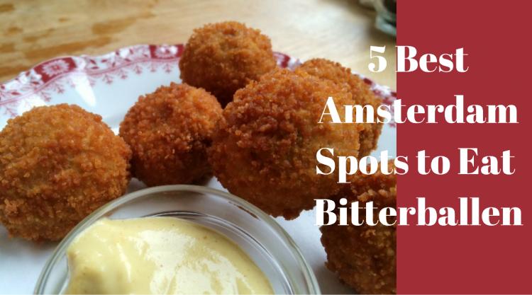 Where to Eat Bitterballen in Amsterdam