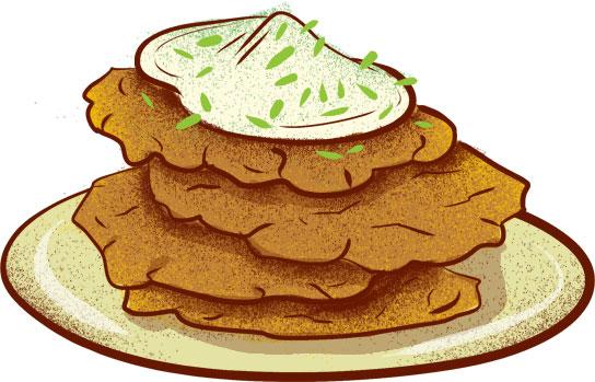 Potato pancakes (bramboračky) - Best Czech Foods