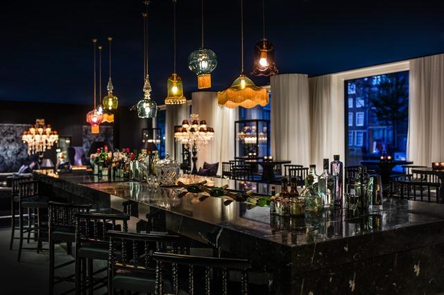 Bluespoon Bar Andaz Hotel Amsterdam