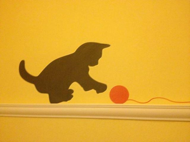 Cats in Prague - Wall Art - Cat Cafe