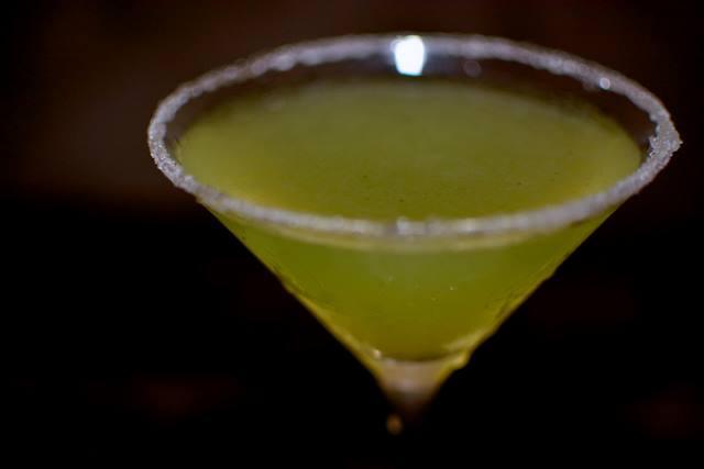Coriander martini - Martins Bistro - Vinohrady Prague