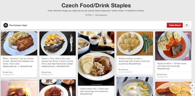 Czech Food_Drink Staples - Prague Pinterest