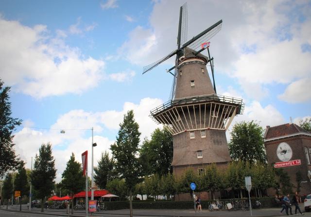 De Goyer windmill Brouwerij het IJ Amsterdam