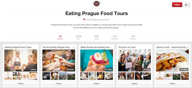Eating Prague Tours - Prague Pinterest