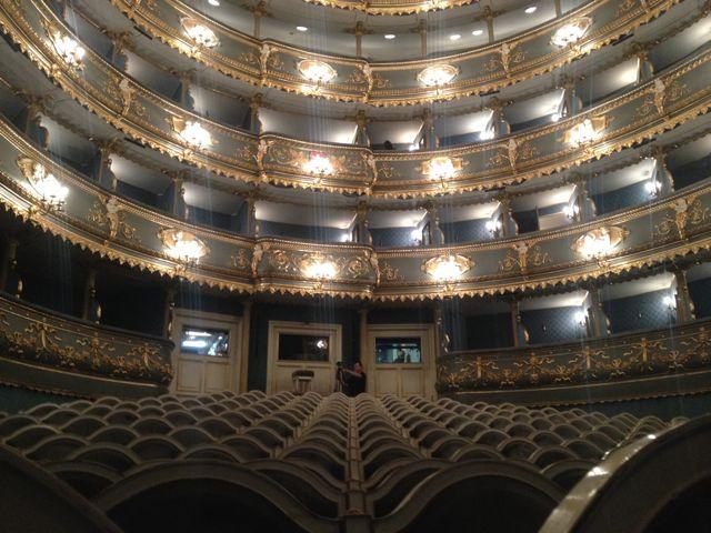 Estates Theater Interior - Prague