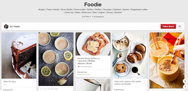 Foodie - Prague Pinterest