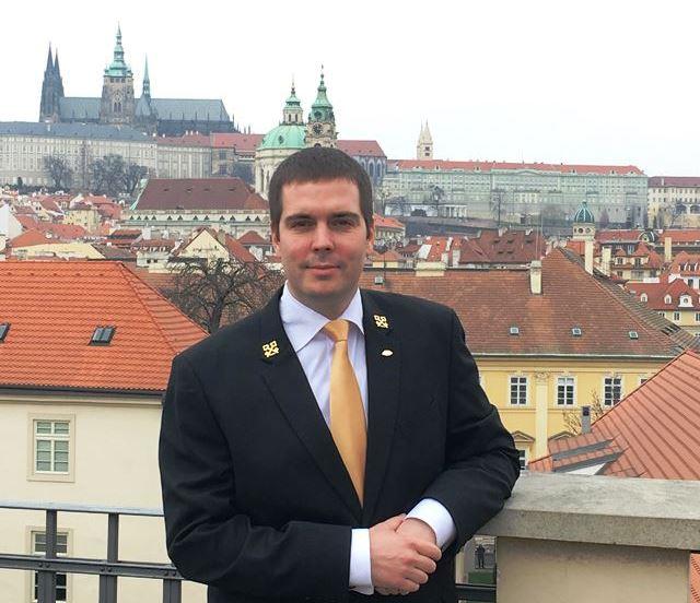 Head Concierge Pavel Ruml from Mandarin Oriental
