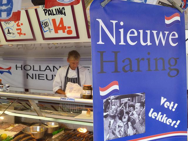 Herring stand Amsterdam