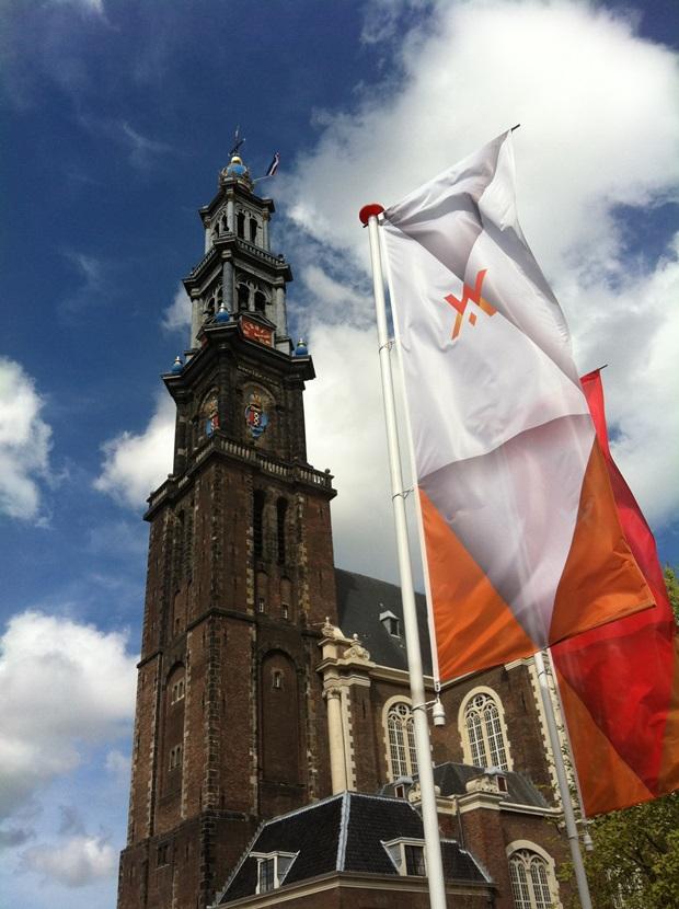 Kings day Amsterdam Westerkerk
