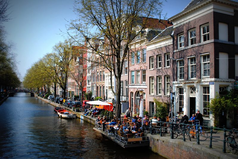 Make the most of Amsterdams great terraces