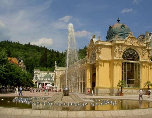 Marienbad-Brunnen - day trips from Prague