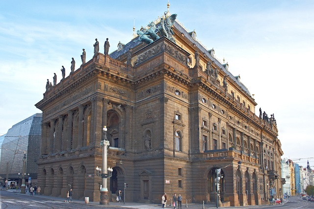 National Theater Exterior - Prague