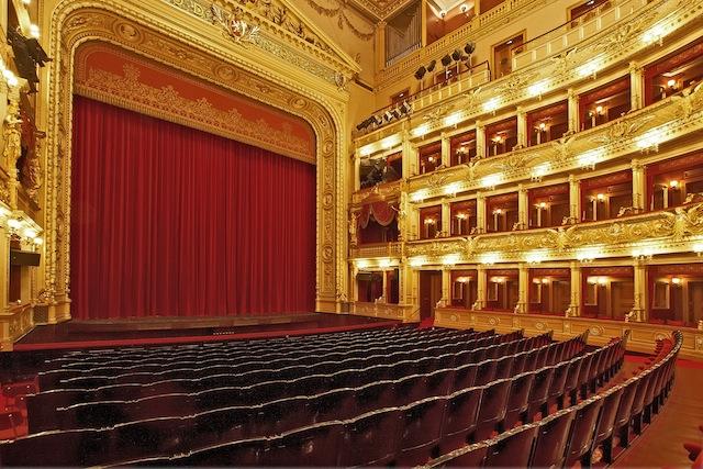 National Theater Interior - Prague