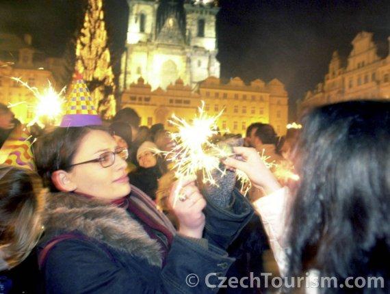 New year's eve - Prague