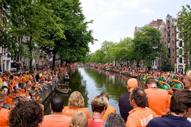 Oranjegek World Cup Amsterdam