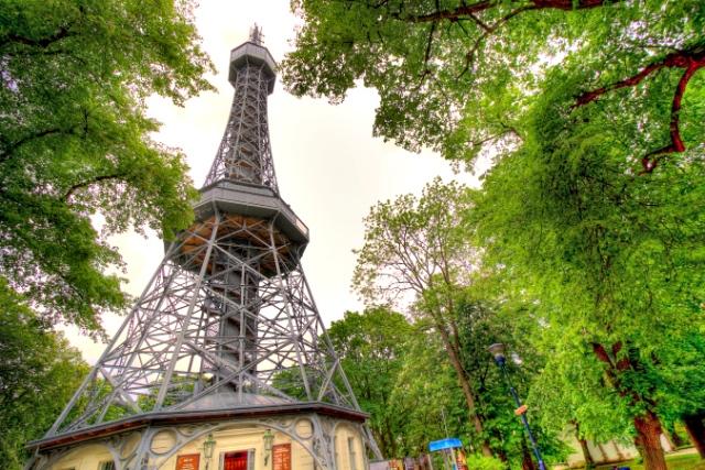 Petrin Mini Eiffel Tower - Prague