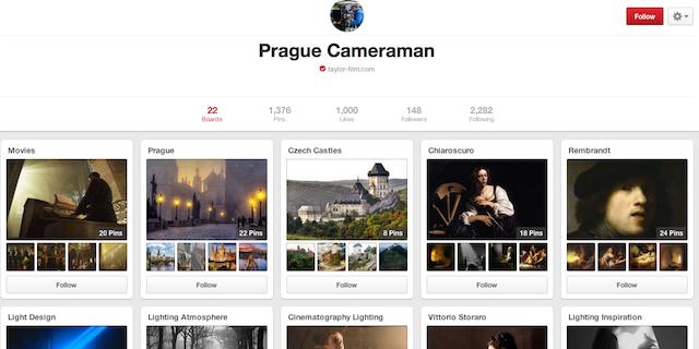 Prague Cameraman - Prague Pinterest