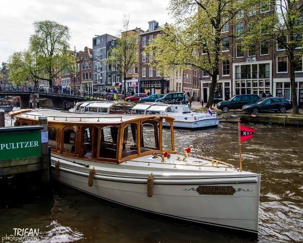 Pulitzer Hotel boat Amsterdam