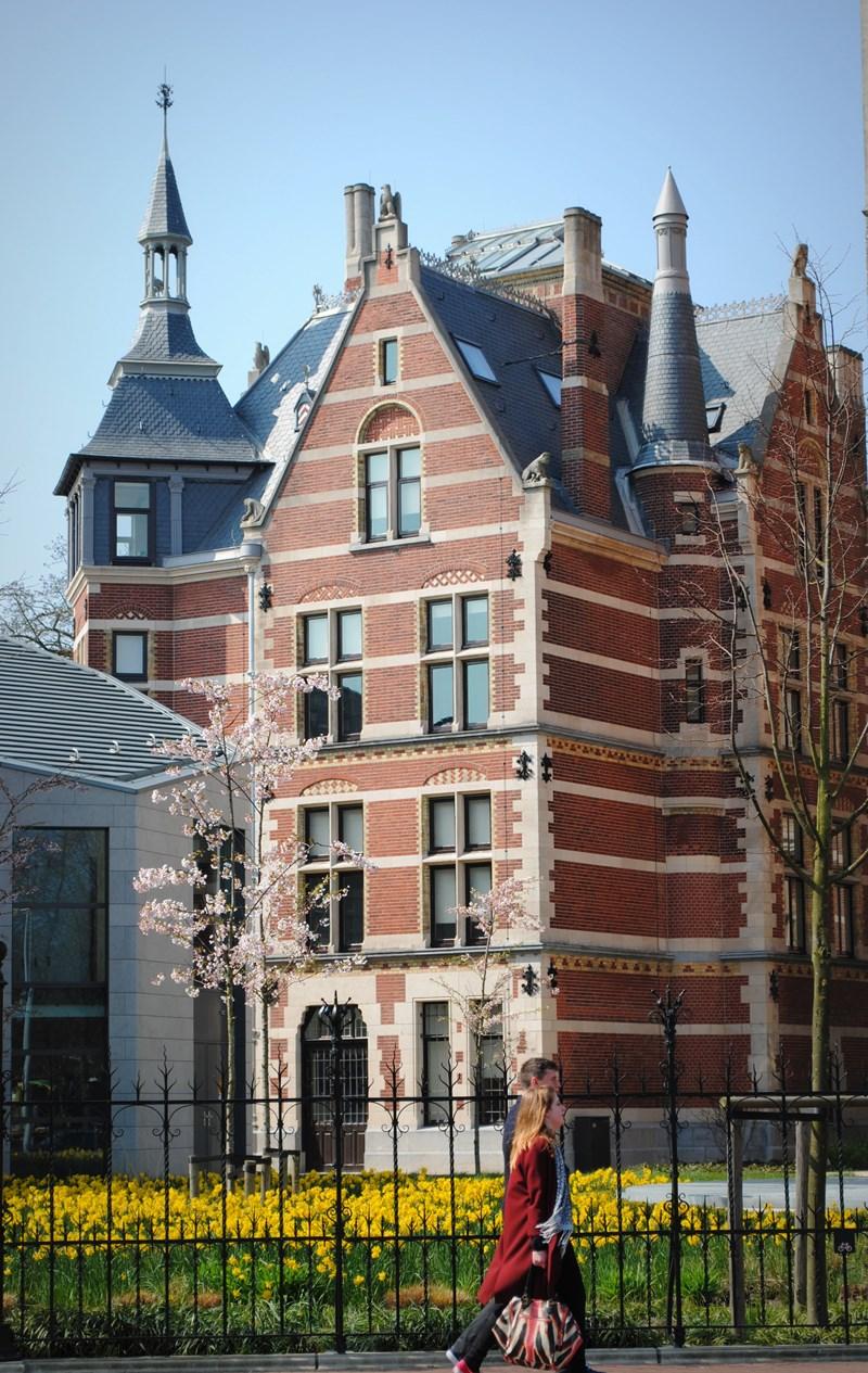 Rijksmuseum in springtime