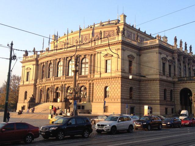 Rudolfinium Exterior - Prague