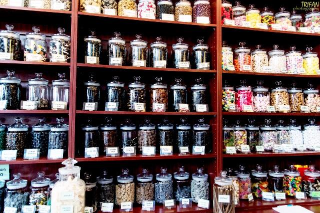 Snoepwinkeltje candy shop Amsterdam