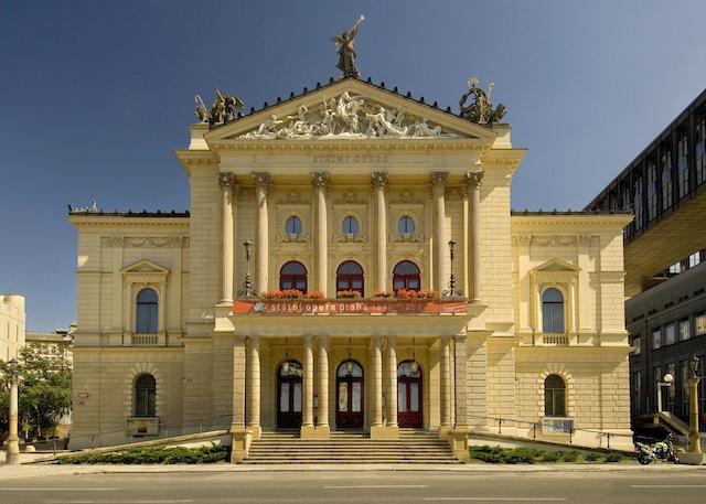 State Opera Exterior - Prague