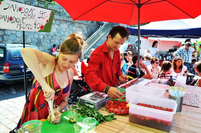 Strawberries Naplavka