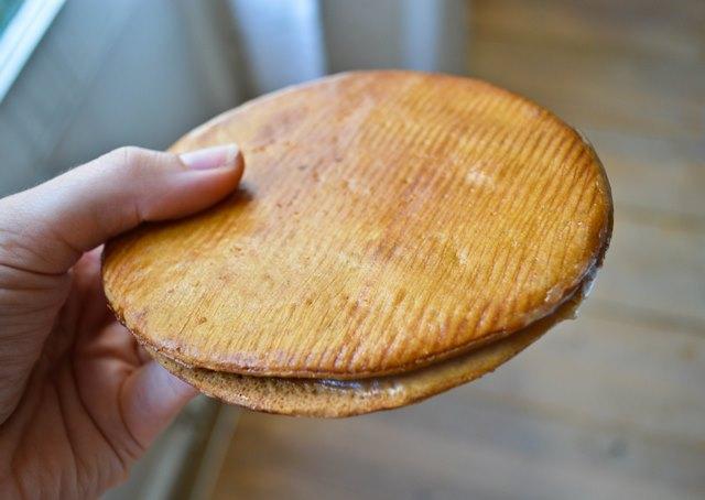 Stroopwaffel from Lanskroon bakery Amsterdam