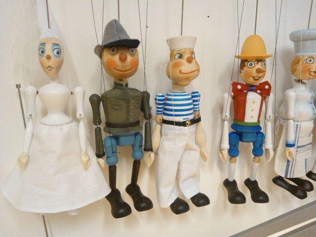 Trulhar marionettes - Prague
