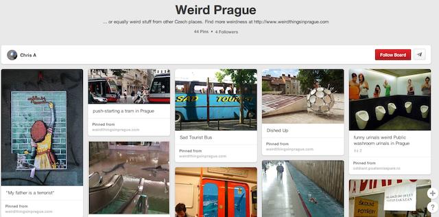 Weird Prague - Prague Pinterest