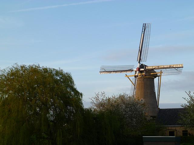 Windmill - typically Dutch - Amsterdam