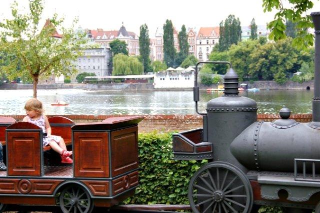 Zofin island steamer - Prague