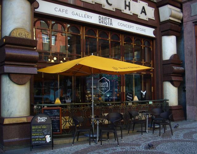 barista - coffee wifi prague