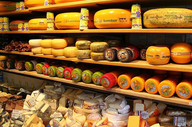 cheese - Amsterdam souvenirs