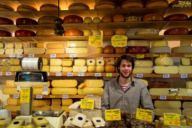 De Kaaskamer Cheese Shop in Amsterdam