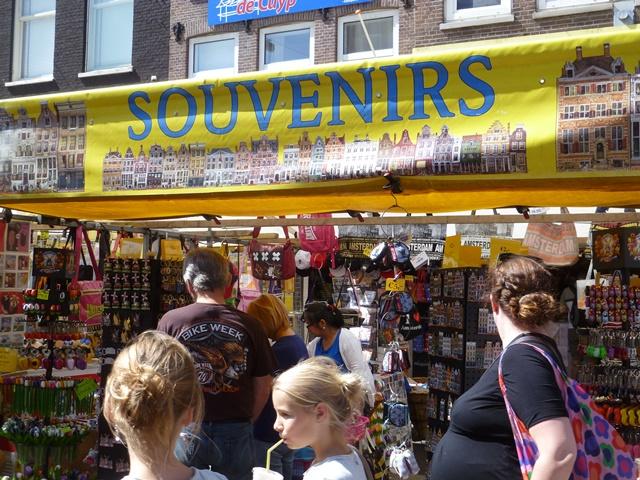 souvenirs - albert cuypmarkt - Amsterdam