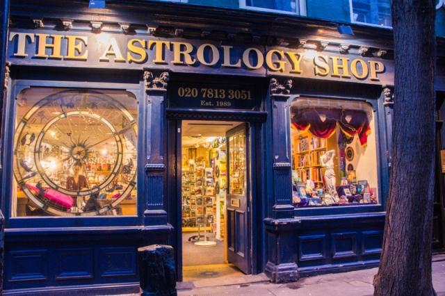Astrology Shop Soho London