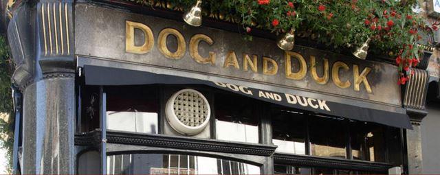 Dog and Duck pub soho