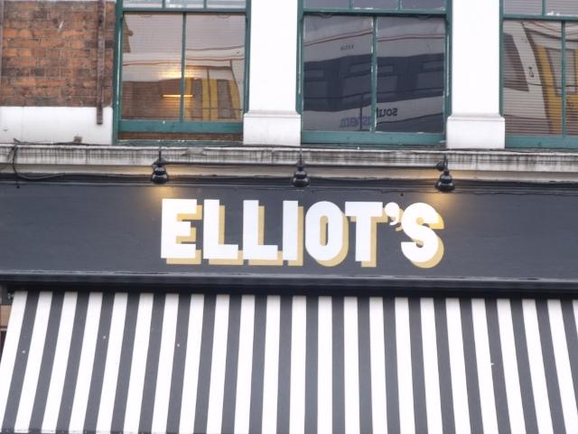 Elliot's Cafe - Elliot Brown